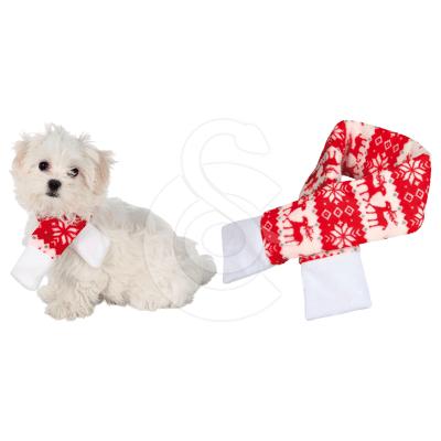 Accessoire Noël chien : Echarpe