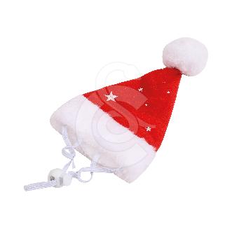 Accessoire Noël chien/chat : Bonnet de Noël