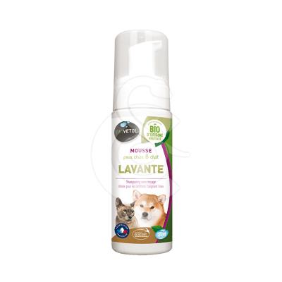 Biovetol Mousse lavante chat et chien Bio