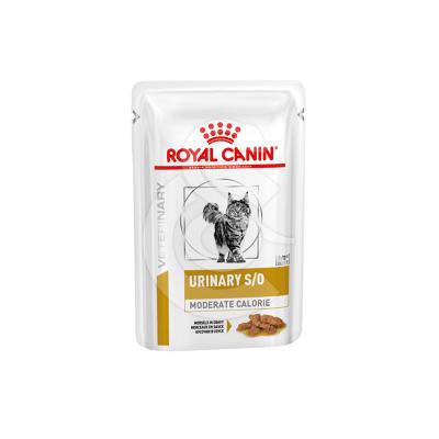 Cat Urinary S/O Moderate Calorie Morceaux Sachet repas