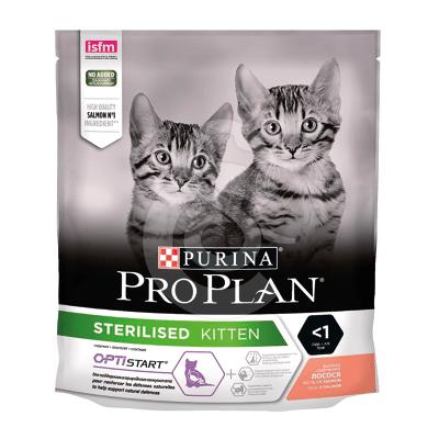 Cat Sterilised Kitten Optistart Saumon