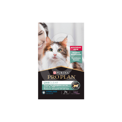 Cat Liveclear Sterilised 7+ Dinde