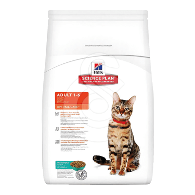 Feline Adult Au Thon Optimal Care