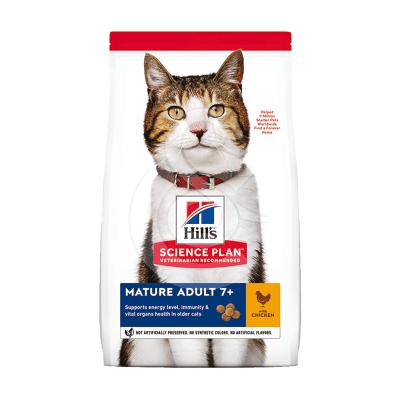 Feline Mature Adult 7+ Poulet