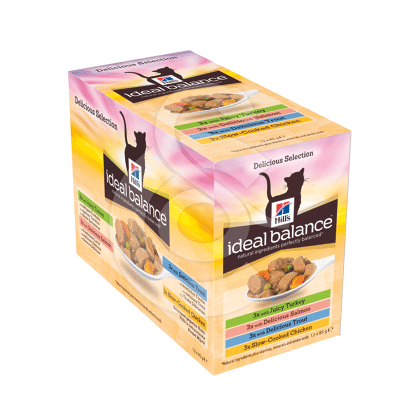 Ideal Balance Feline Adult Pack Mixte Sachet repas