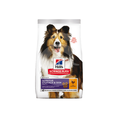 Canine Adult Medium Sensitive Stomach&Skin Poulet
