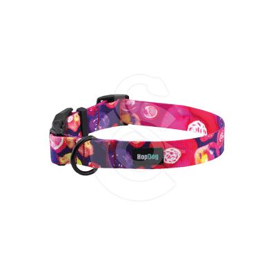 Collier Hop Dog Purple