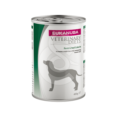 Eukanuba Veterinary Diets Dog Restricted Calorie Poul. Boîte