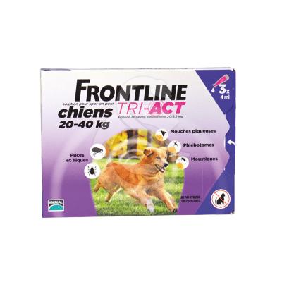 Frontline Tri-Act L Chien 20-40 kg