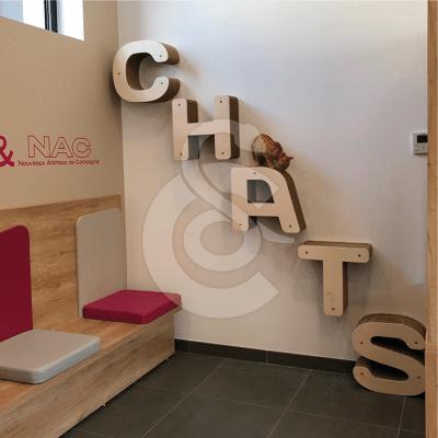 Griffoir Homycat : Kit pour suspendre lettres simples