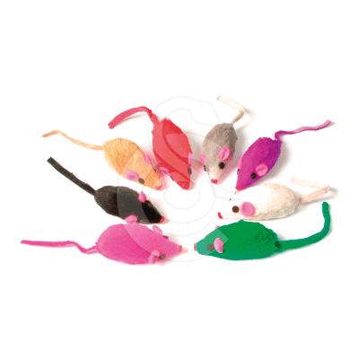 Jouet chat : Souris en fourrure