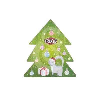 Jouet Noël chat : Boîte cadeau 4 articles