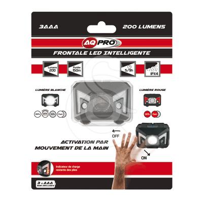 Lampe frontale Led Energizer à Détecteur de mouvements