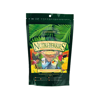 Nutri-Berries Tropical Fruit Parakeet & Cockatiel