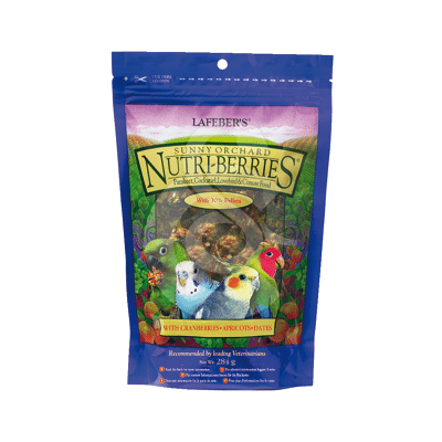 Nutri-Berries Sunny Orchard Parakeet & Cockatiel