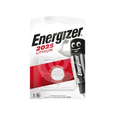 Pile bouton lithium 3V Type CR2025 Energizer