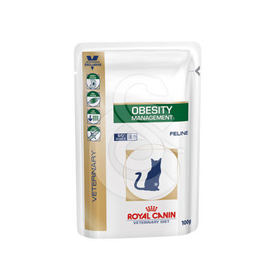 Veterinary Diet Cat Obesity Sachet repas