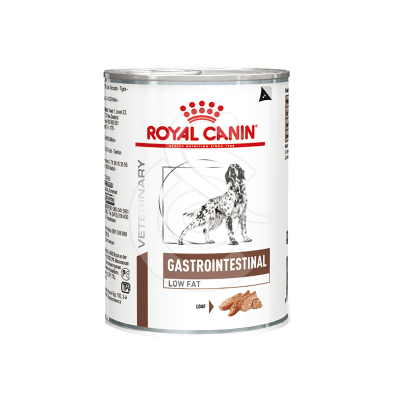 Veterinary Diet Dog Gastro Intestinal Low Fat Boîte