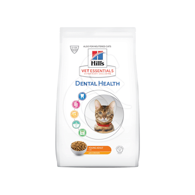 Vetessentials Feline Young Adult Dental Health Poulet