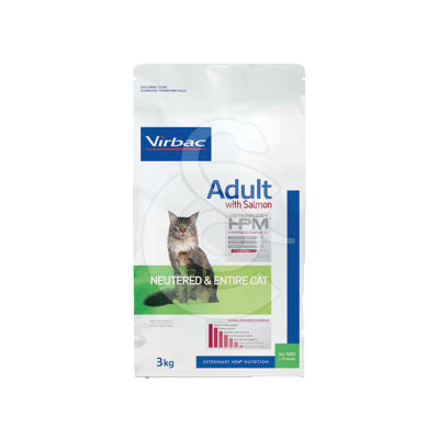 Veterinary Hpm Adult With Salmon Neutered&Entire Cat