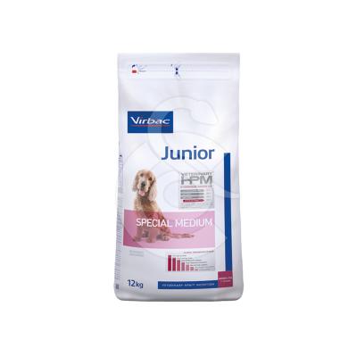 Veterinary Hpm Junior Dog Special Medium
