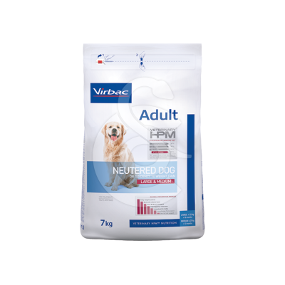 Veterinary Hpm Adult Neutered Dog Large & Medium