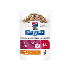 Feline I/D Digestive Care Activ Biome+ Poulet Sachet repas
