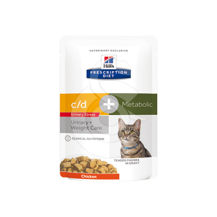 Feline C/D Urinary Stress + Metabolic Sachet Repas
