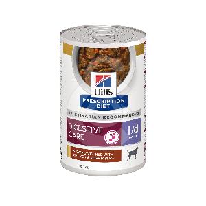 Canine I/D Low Fat Activ Biome+ Mijotés Poulet & Légu. Boîte