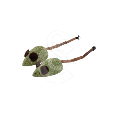 Jouet chat Wouapy : souris en herbe à chat/matatabi