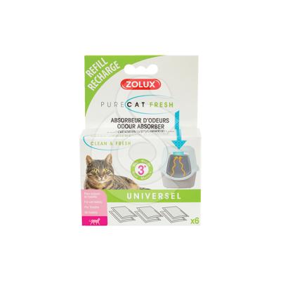 Kit anti-odeurs Zolux PureCat Fresh