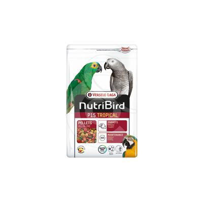 Nutribird Perroquets P15 Tropical (extrudé)