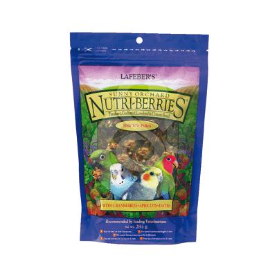 Nutri-Berries Sunny Orchard Parakeet & Cockatiel