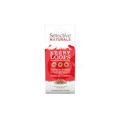 Selective Naturals Berry Loops pour cochons d'Inde