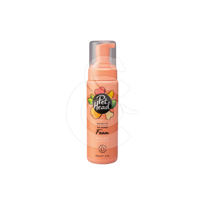 Shampoing mousse sans rinçage chien Pet Head Quick Fix Doux