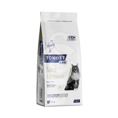 Tonivet Chat Sans céréales