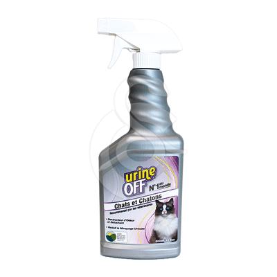 Urine Off Destructeur d'odeurs urine Chats et chatons