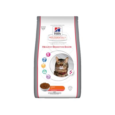 Vetessentials Feline Adult Healthy Digestive Biome Saumon