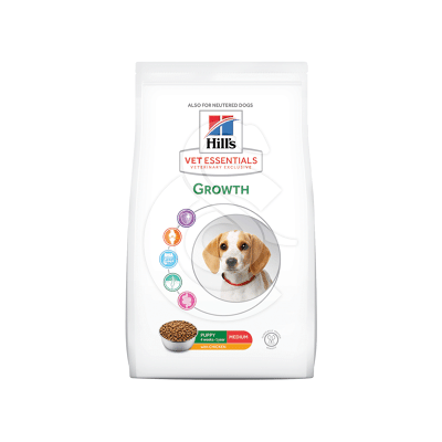 Vet Essentials Canine Puppy Growth Medium Poulet